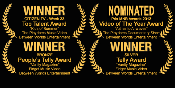 The Vanity Magazine music video is up for an people's telly award!!!